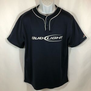Other - Men's Alleson Athletic Bud Light Jersey Navy SZ L